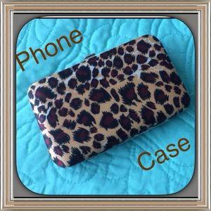 Phone Case Animal Print NWOT